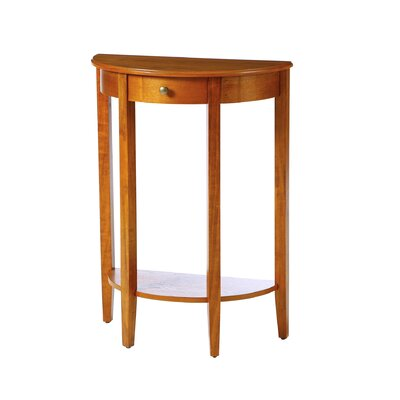 Kerry Console Table Color: Cherry