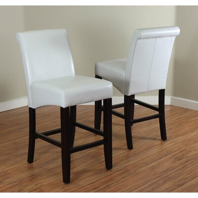 26 Bar Stool Upholstery: Cloud Gray