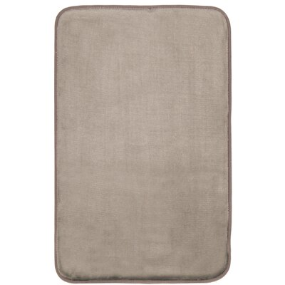 Guilford Luxury Bath Rug Color: Beige