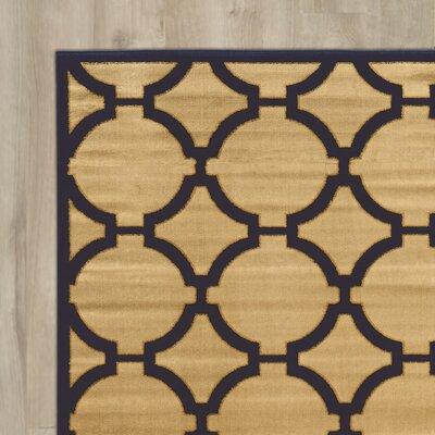 Alica Cream Area Rug Rug Size: 5 x 73