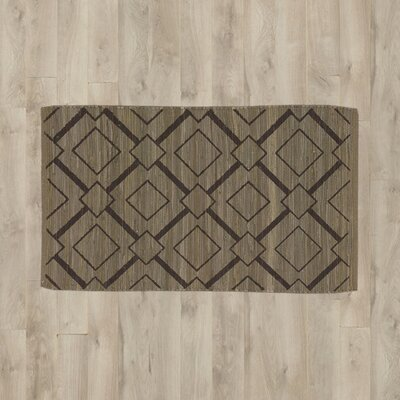 Almeta Chocolate/Beige Area Rug