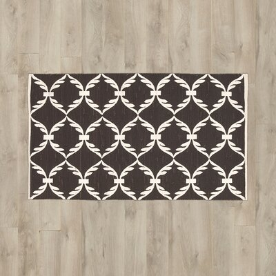 Sebrina Brown/White Area Rug