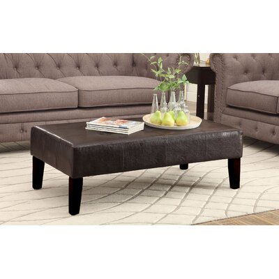 Mason Coffee Table Color: Brown