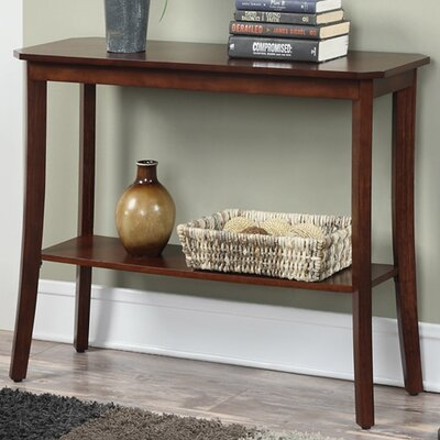 Lockheart Console Table Finish: Mahogany