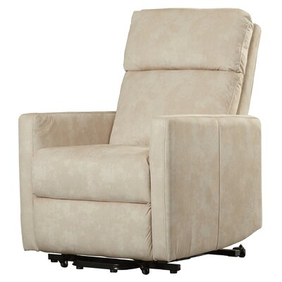Albert Power Lift Assist Recliner Color: Cream