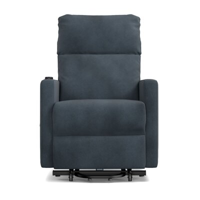 Albert Power and Lift Wall Hugger Recliner Color: Slate Blue
