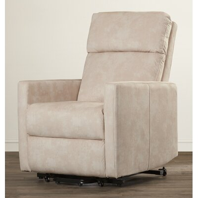 Albert Power and Lift Wall Hugger Recliner Color: Cream