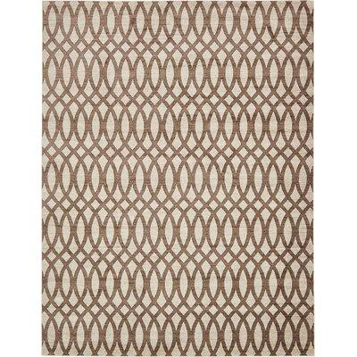 Greene Brown/Beige Area Rug Rug Size: 10 x 13