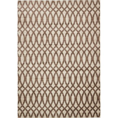 Greene Brown/Beige Area Rug Rug Size: 8 x 116