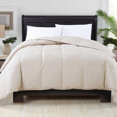 Corduff Down Alternative Comforter Color: Khaki, Size: Full/Queen
