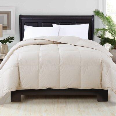 Perth Down Comforter Color: Khaki, Size: Full/Queen