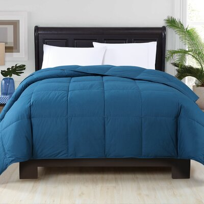 Perth Down Comforter Color: Navy, Size: Twin XL