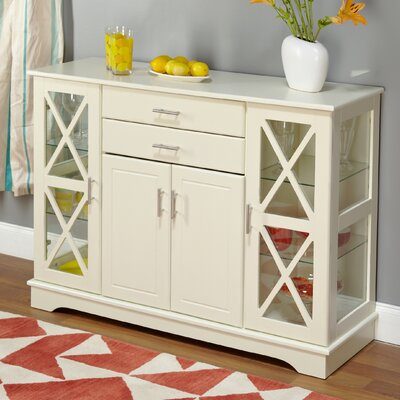 Cabot Server Finish: Antique White