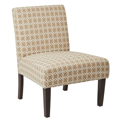 Barhill Patterned Slipper Chair Upholstery: Celtic Flax