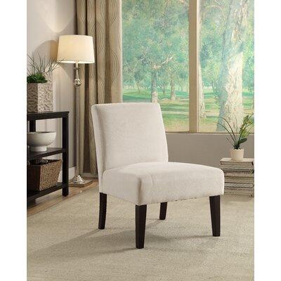 Baronets Slipper Chair Upholstery: Oyster Velvet