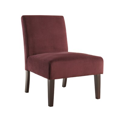 Baronets Slipper Chair Upholstery: Port Velvet