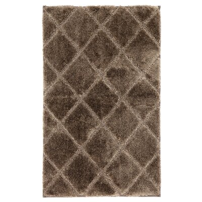 Plattsburgh Bath Mat Size: 20 W x 34 L, Color: Brown