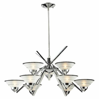 Sharpe 9-Light Semi Flush Mount