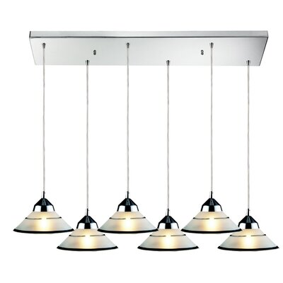 Sharpe 6-Light Kitchen Island Pendant