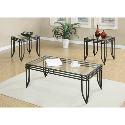 Avella 3 Piece Coffee Table Set