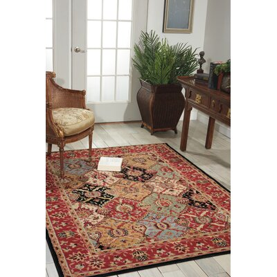 Standish Brown Area Rug Rug Size: Runner 22 x 73