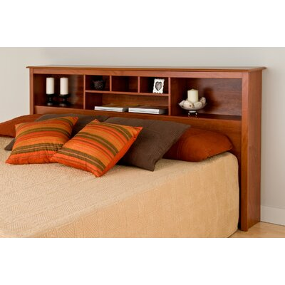 Sybil King Bookcase Headboard Finish: Cherry