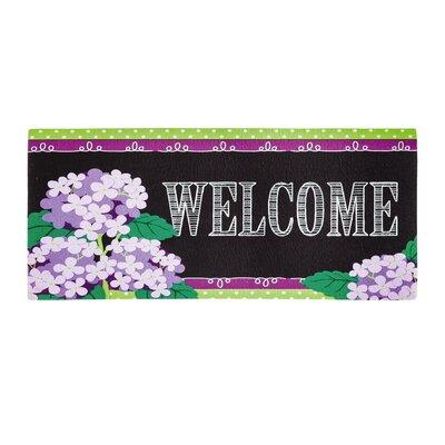 Elaine Hydrangea Beauty Sassafras Doormat