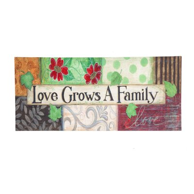 Alysa Love Grows a Family Sassafras Doormat