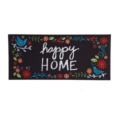 McKenney Happy Home Doormat