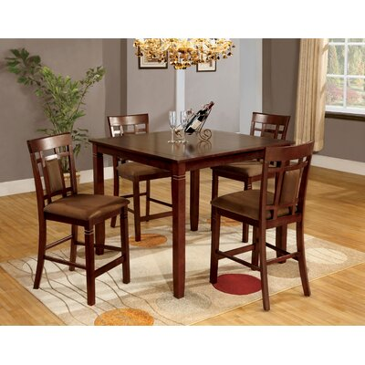 Flamingo 5 Piece Counter Height Dining Set