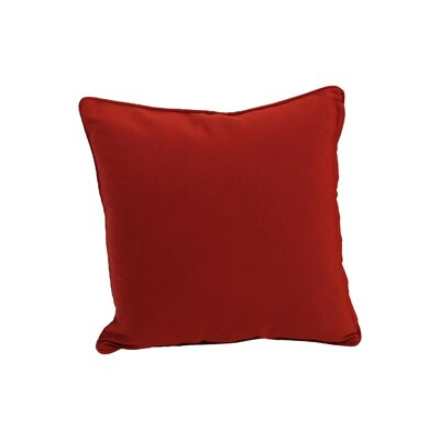 Weymouth Indoor/Outdoor Throw Pillow Color: Red