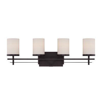 Agnes 4-Light Vanity Light Finish: English Bronze