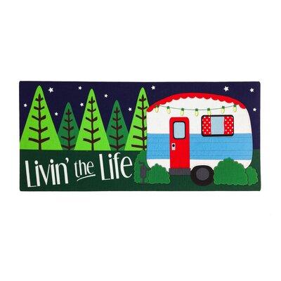 Pleasantville Livin the Life Sassafras Doormat