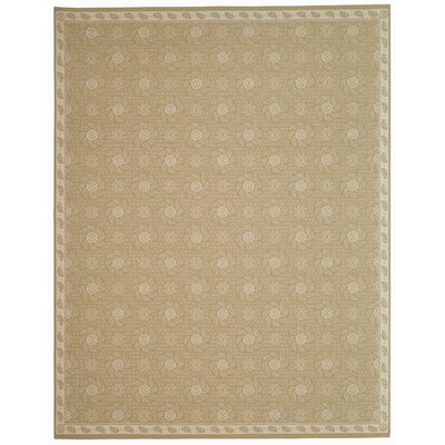 Pinwheel Hand Tufted Wool Oat Area Rug Rug Size: Rectangle 7'9
