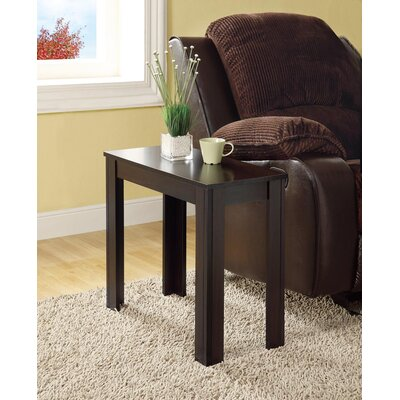 Killdeer End Table Finish: Cappuccino