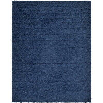 Falmouth Navy Blue Area Rug Rug Size: 10 x 13