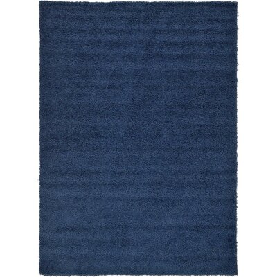 Falmouth Navy Blue Area Rug Rug Size: 4 x 6