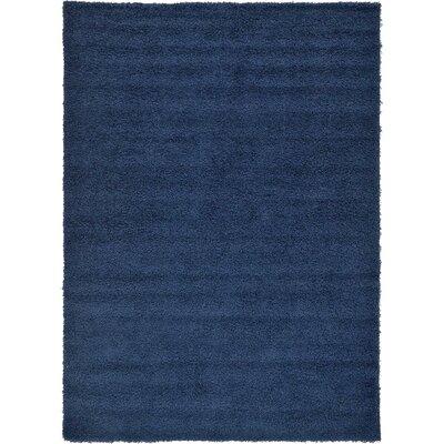 Falmouth Navy Blue Area Rug Rug Size: 8 x 11