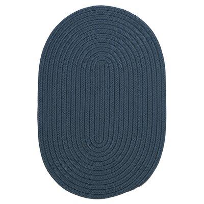 Mcintyre Blue Indoor/Outdoor Area Rug Rug Size: Oval 7 x 9