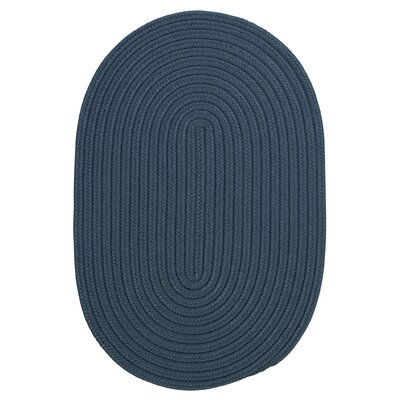 Rainsburg Lake Blue Indoor/Outdoor Area Rug Rug Size: Oval 4 x 6