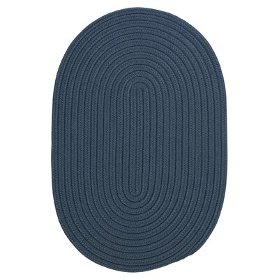 Mcintyre Blue Indoor/Outdoor Area Rug Rug Size: Oval 2 x 3