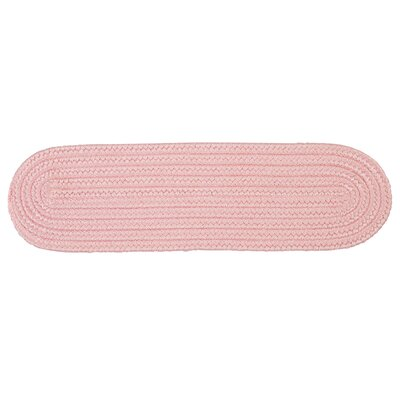 Mcintyre Light Pink Stair Tread Quantity: Set of 13