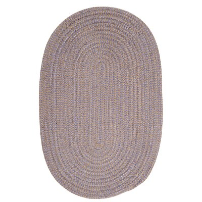 Ridley Amethyst Check Indoor/Outdoor Area Rug Rug Size: Oval 7 x 9