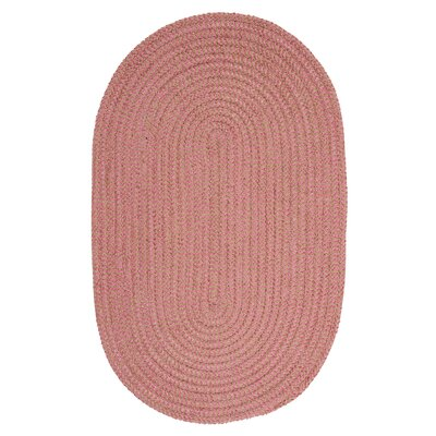 Ridley Camerum Check Indoor/Outdoor Area Rug Rug Size: Oval 5 x 8