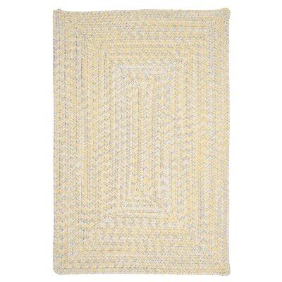 Hawkins Yellow Sun-Soaked Indoor/Outdoor Area Rug Rug Size: 5 x 8