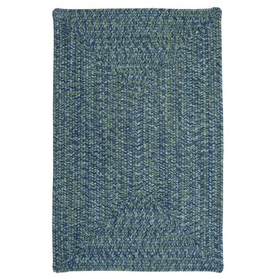 Rockland Deep Sea Indoor / Outdoor Area Rug Rug Size: 8 x 11