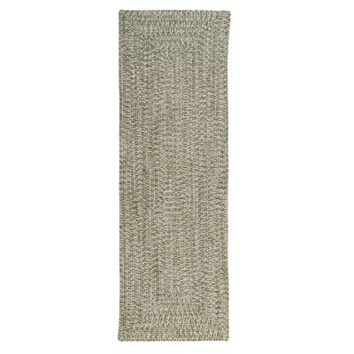 Hawkins Greenery Indoor / Outdoor Area Rug Rug Size: Runner 2 x 6