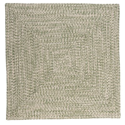 Rockland Greenery Indoor / Outdoor Area Rug Rug Size: Square 8
