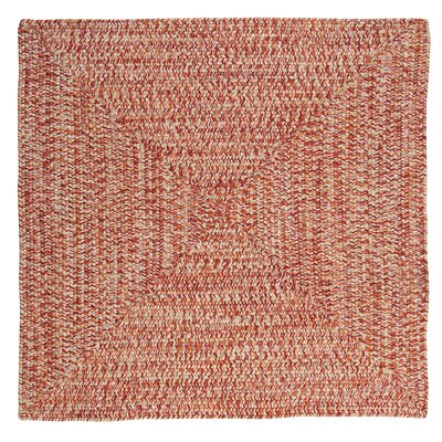 Rockland Fireball Indoor/Outdoor Area Rug Rug Size: Square 4