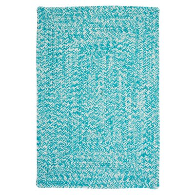Hawkins Turquoise Indoor/Outdoor Area Rug Rug Size: Rectangle 10 x 13